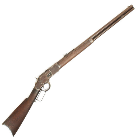 Original U.S. Winchester Model 1873 .44-40 Rifle with Round Barrel - Manufactured in 1882