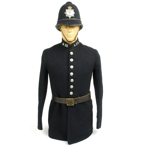 Original British WWII Bobby Police Blitz Uniform Set - Old Style Tunic