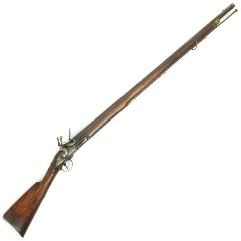 Original English India Pattern Brown Bess Flintlock Musket Marked to 1st Regiment- The Royal Scots