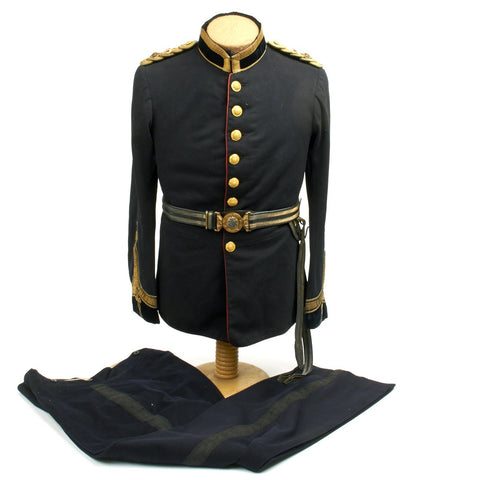 Original British Pre-WWI Army Medical Service Lieutenant Colonel Uniform Set - Circa 1902
