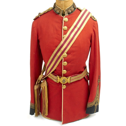 Original British Victorian Royal Fusiliers Officer Tunic Set - Circa 1885