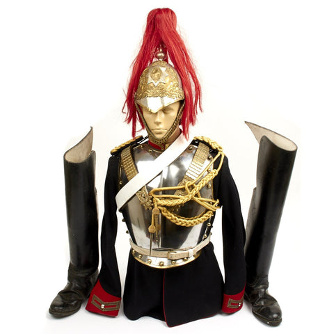 Original British Household Cavalry Royal Horse Guard Trooper Uniform Set- Circa 1965