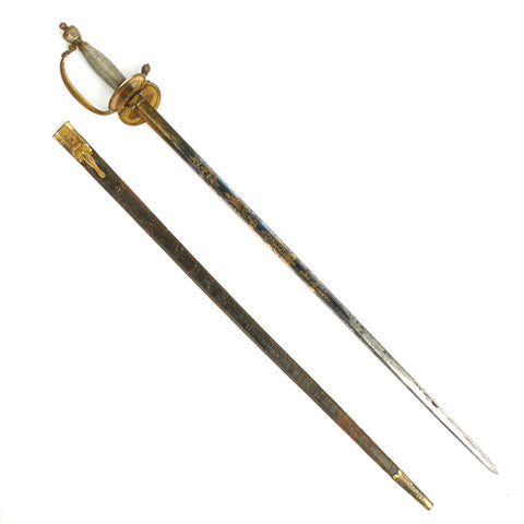 Original British Georgian Named P-1796 Infantry Foot Officer Sword