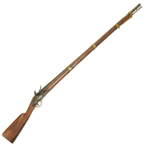 Original American War of 1812 Dutch Musket with U.S. Surcharge