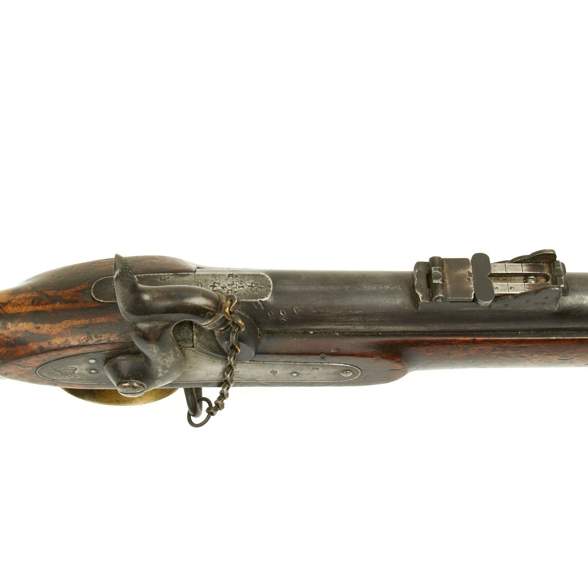 Original British P-1853 Enfield Rifle Musket Produced in Belgium