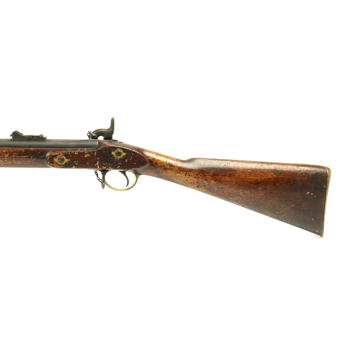 Original British P-1853 Enfield Rifle Musket Produced in