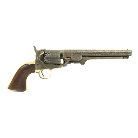 Original U.S. Civil War Era Colt 1851 Navy Revolver - Manufactured in 1861 - Serial No 97224 Original Items