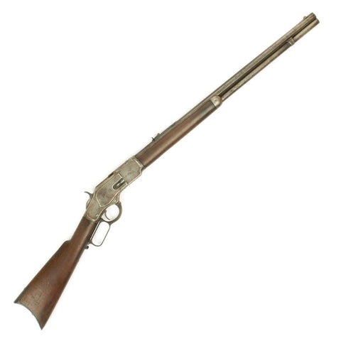 Original U.S. Winchester Model 1873 .44-40 Rifle with Octagonal Barrel - Manufactured in 1884
