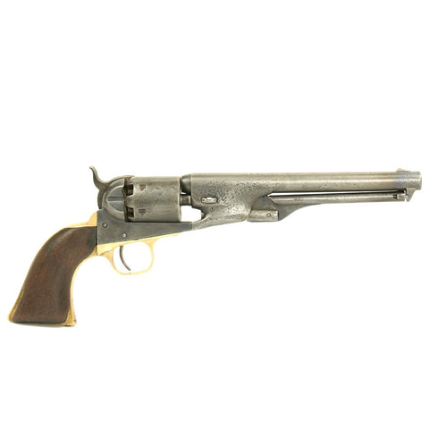 Original U.S. Civil War Colt 1861 Navy .36 Caliber Pistol Matching Serial No 2373 - First Year of Production Original Items