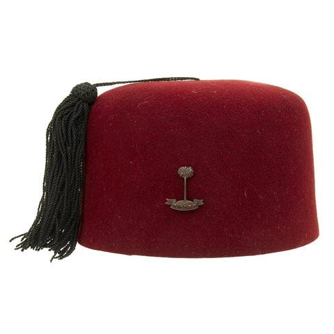 Original Royal West African Frontier Force Fez Dated 1935