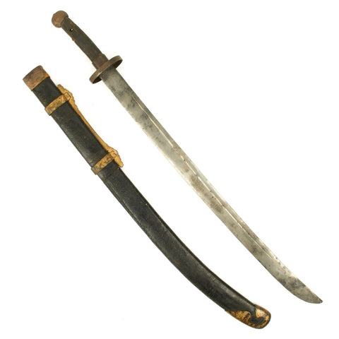 Original Boxer Rebellion Chinese Jian Sword - Circa 1900