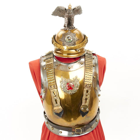 Original Prussian Helmet and Cuirass of the Garde Du Corps- Circa 1871