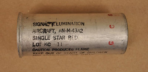 US 37-mm Single-Star Red Flare
