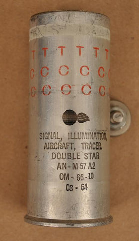 US 37-mm Double Red Stars With Red Tracer Original Items