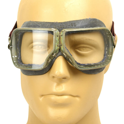 Original Russian Soviet Cold War Era Pilot Goggle