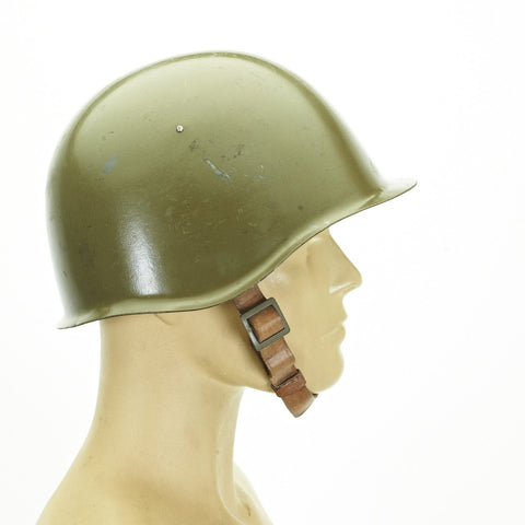 Original WWII Style Russian Soviet Army M-40 Steel Helmet - Post War Production