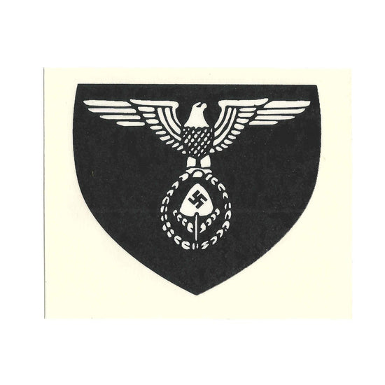 German WW2 Helmet Decal Set- RAD Reich Labour Service
