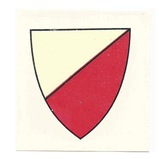 German WW1 Helmet Decal: Lübeck