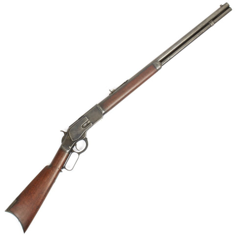 Original U.S. Winchester Model 1873 .44-40 Rifle with Round Barrel - Manufactured in 1886
