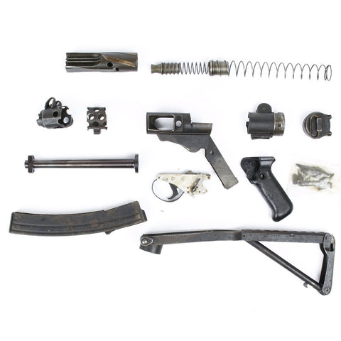 British Sterling SMG MK IV Parts Set with Barrel and Magazine