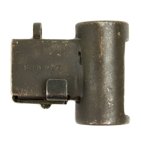 Original British WWII Sten Gun Mk 5 Magazine Housing Assembly - Mark V