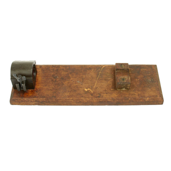 Original German WWII MG 15 Barrel Vise Original Items