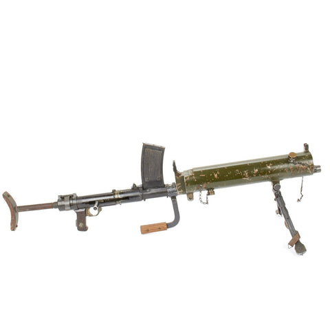 Original German WWII MG 15 Water Cooled Display LMG with Box Magazine