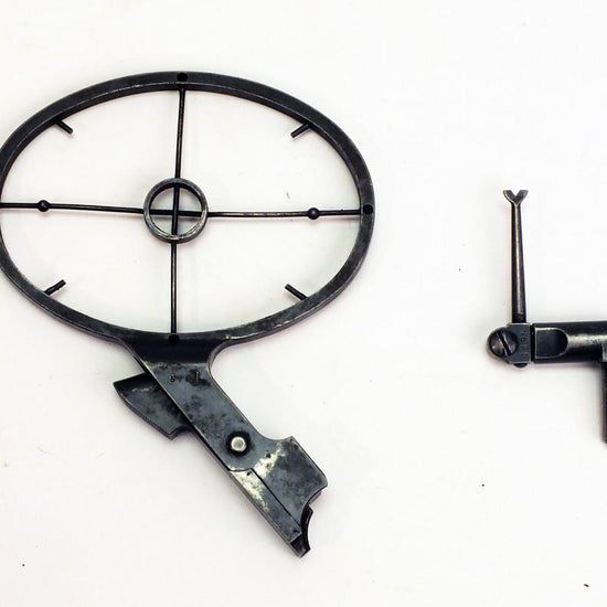 German WW2 ZB26 & ZB30 Antiaircraft Sight Set : Front & Rear Original Items