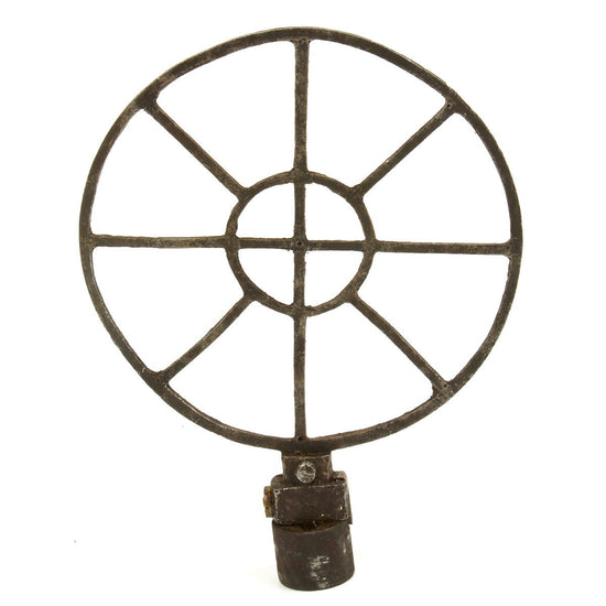 Original German WWI Maxim MG08 Anti-Aircraft Spider Sight - Stamped Late Model