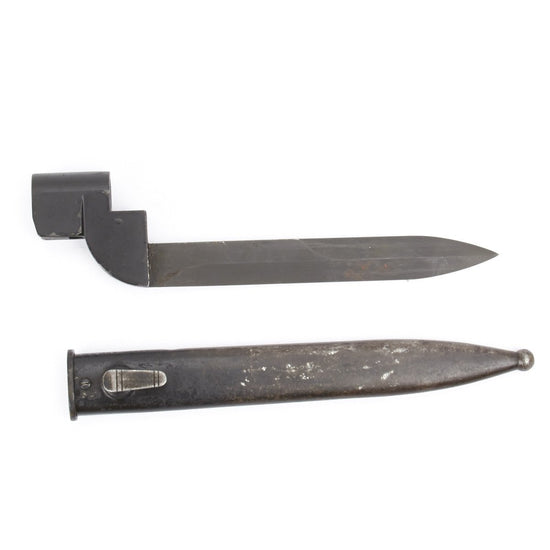 Original South African Enfield Bayonet No. 9 for Lee-Enfield Rifle No. 4 Mk I with Scabbard
