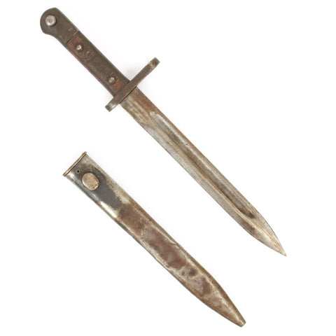 Original Turkish Model 1939 Mauser Bayonet