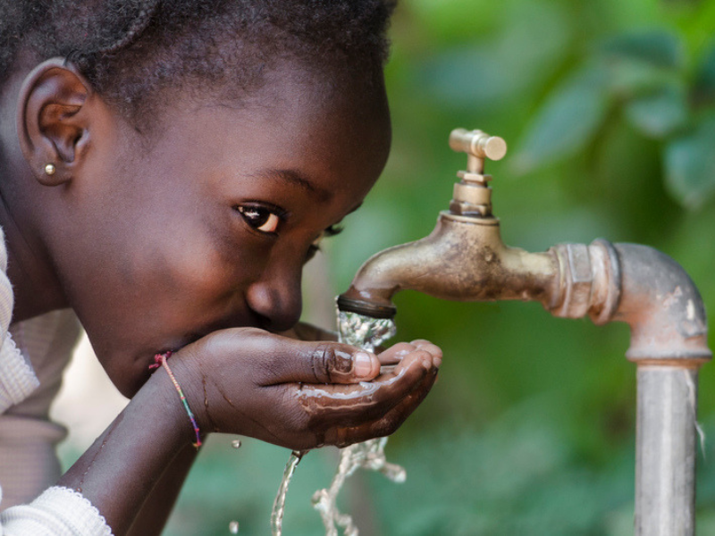 Clean Water and Sanitation In Children's Hospital In Malawi