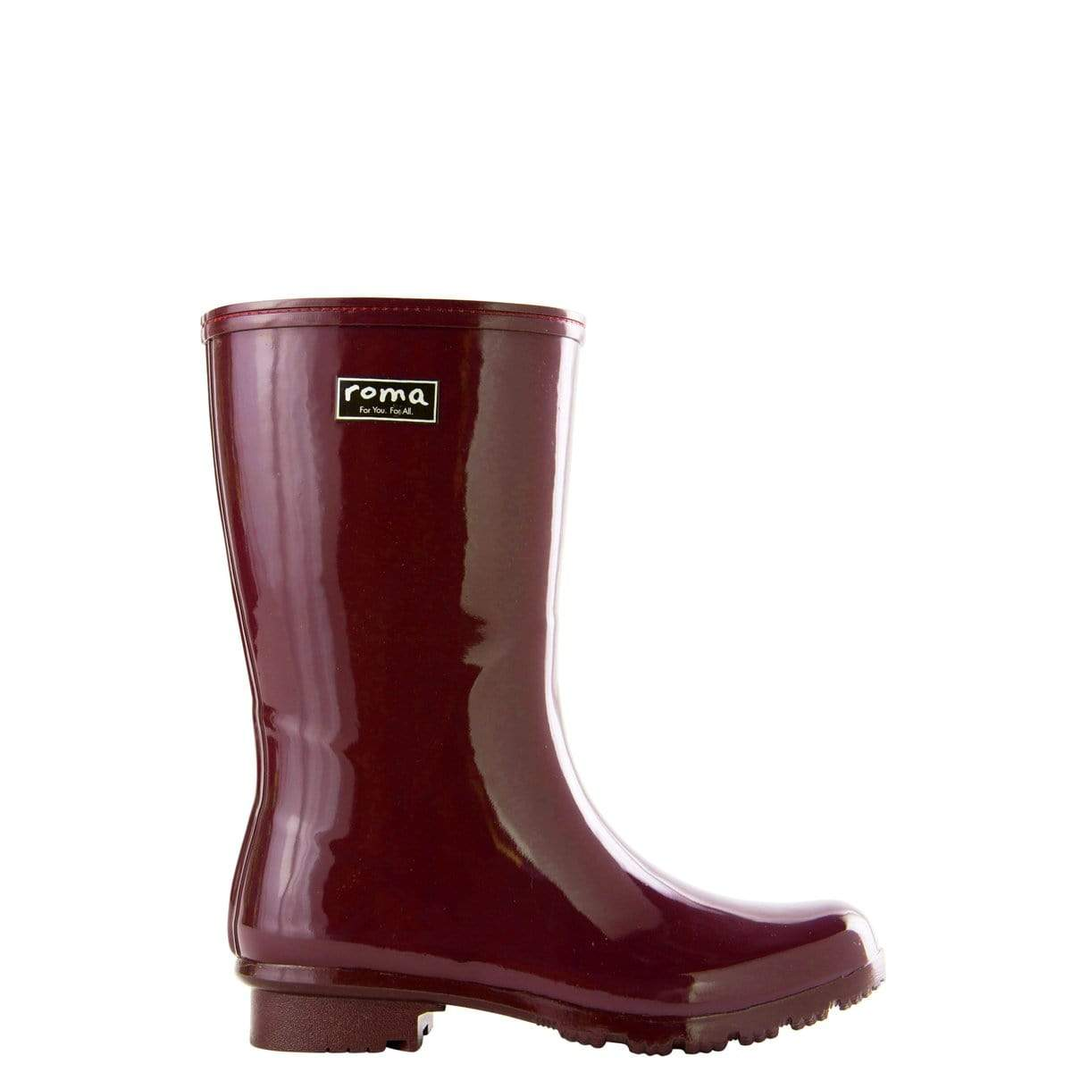 Roma Boots Boots Roma Maroon Boots