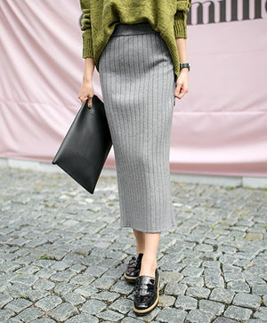 Annarose Skirt (Grey)