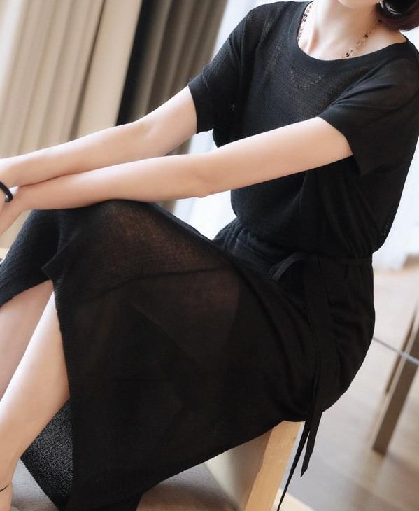 Hemshire Dress (Black)