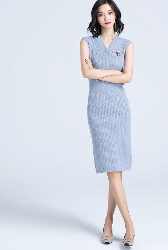Melissa Dress (Grey)