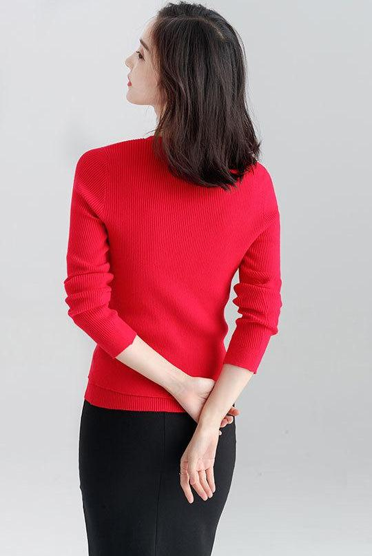 Dehlia Two-Piece Top (Red)
