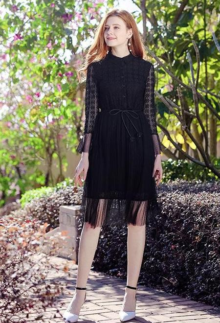 Caris Dress (Black)
