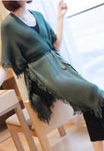 Laurel Cape (Olive)