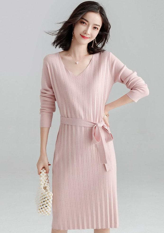 Maltese Dress (Pink)