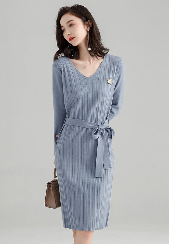 Maltese Dress (Grey)
