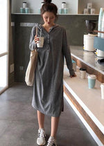 Whitney Dress (Dark Grey)