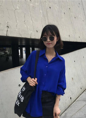 Carlie Top (Blue)