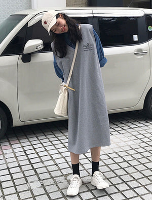 Abree Dress (Grey)