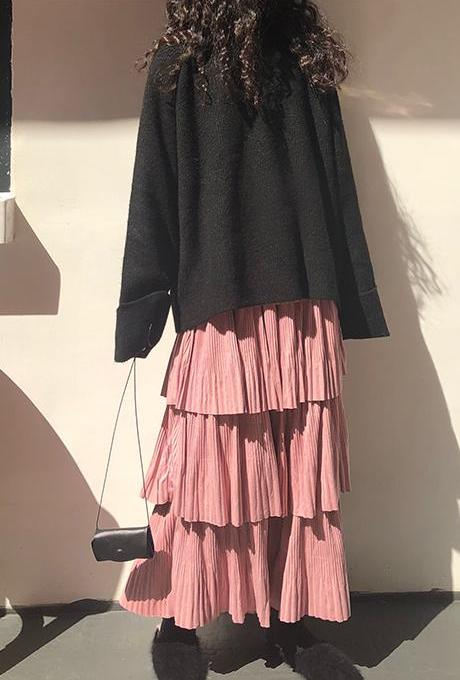 Delina Skirt (Pink)