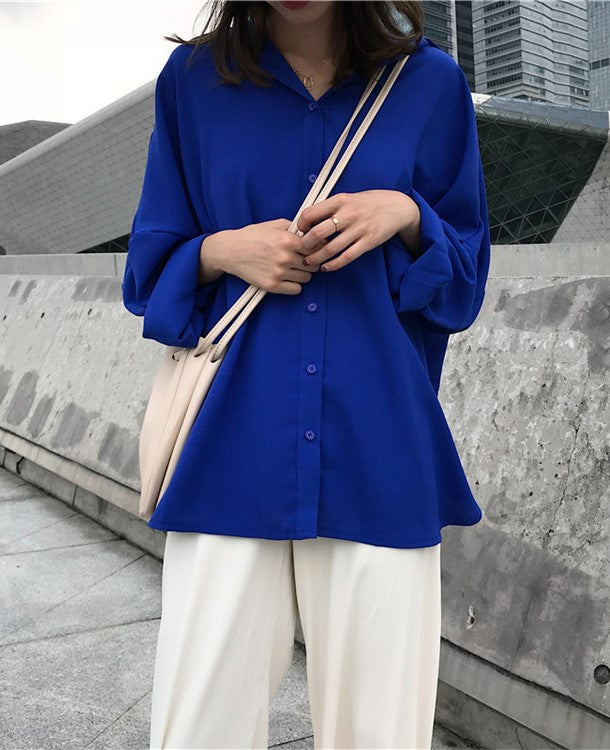 Elizabeth Top (Blue)