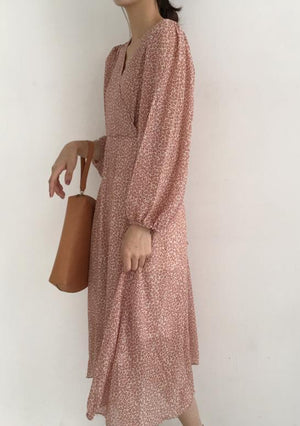 Angie Dress (Beige)