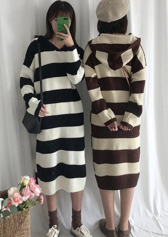 Therese Dress (Brown)