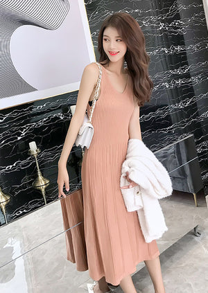 Alana Dress (Orange)