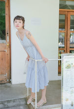 Joycelyn Dress (Light Blue) (Non-Returnable)